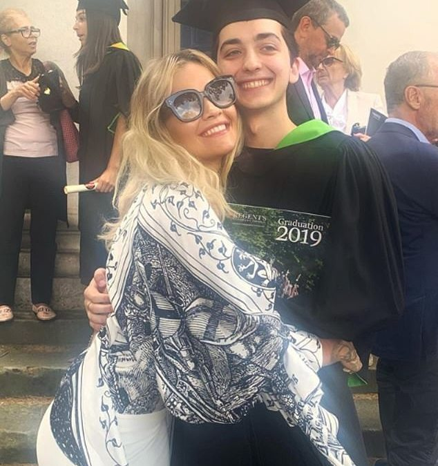 Rita Ora praises her little brother Don as the 'kindest human' as he graduates from university