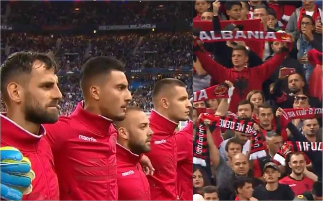 Euro 2020 qualifier: A WRONG national anthem played for Albania and Eight Czech fans arrested over plans to fly DRONE in Kosovo