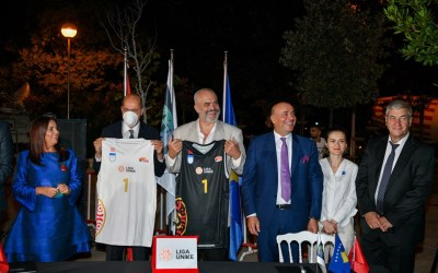 A joint basketball league launches between Albania and Kosovo
