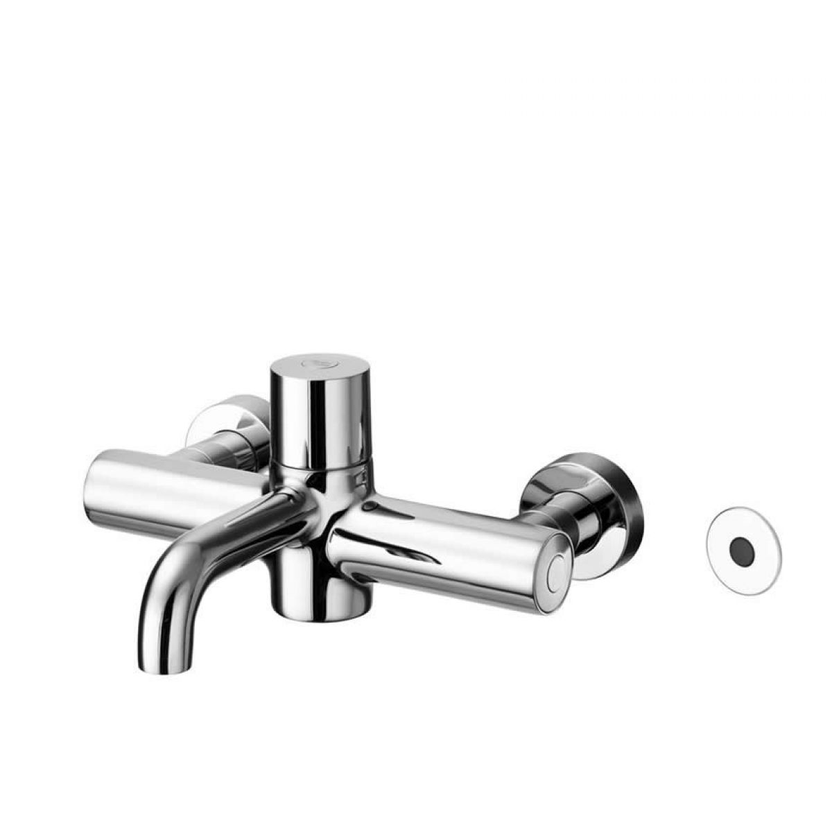 Armitage Shanks Markwik 21 Wall Mounted Thermostatic Basin Mixer With Time Flow Sensor Uk
