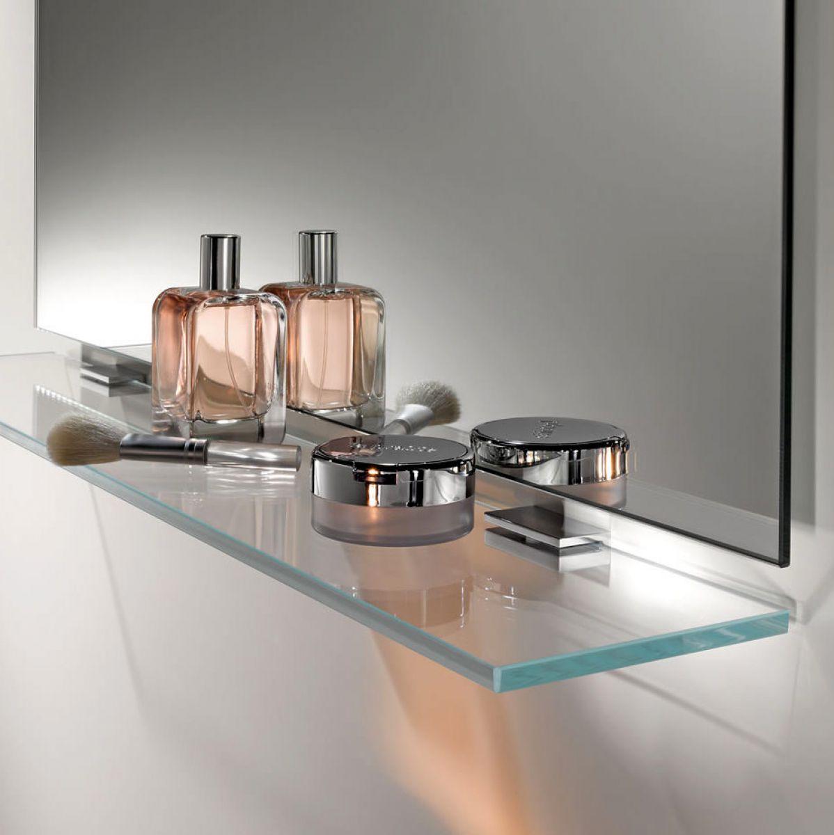 Keuco Moll Glass Shelf With Brackets