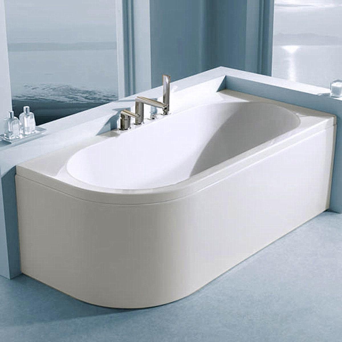 Carron Status Duo Offset Curved Bath UK Bathrooms