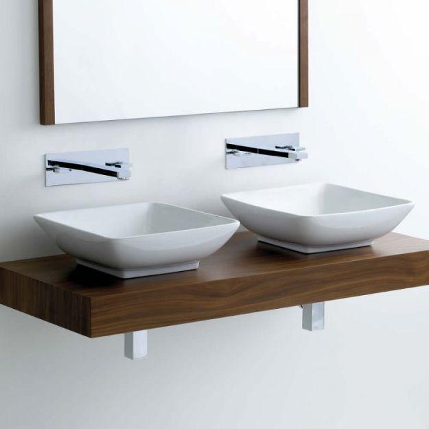 bathroom sinks including counter top & semi-recessed : uk bathrooms