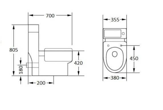 small bathroom design sink toilet