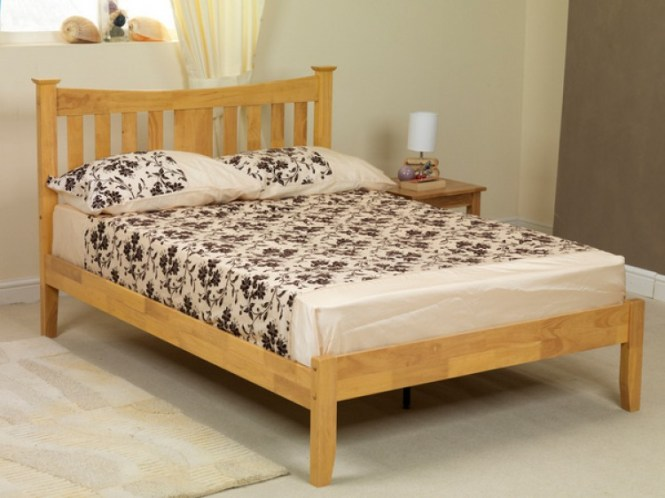 4ft Small Double Metal Bed Frame Bedstead In White By Comfy Living