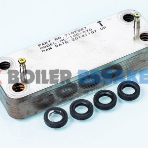 Baxi Heat Exchanger DHW 248723 GC – 47-075-36