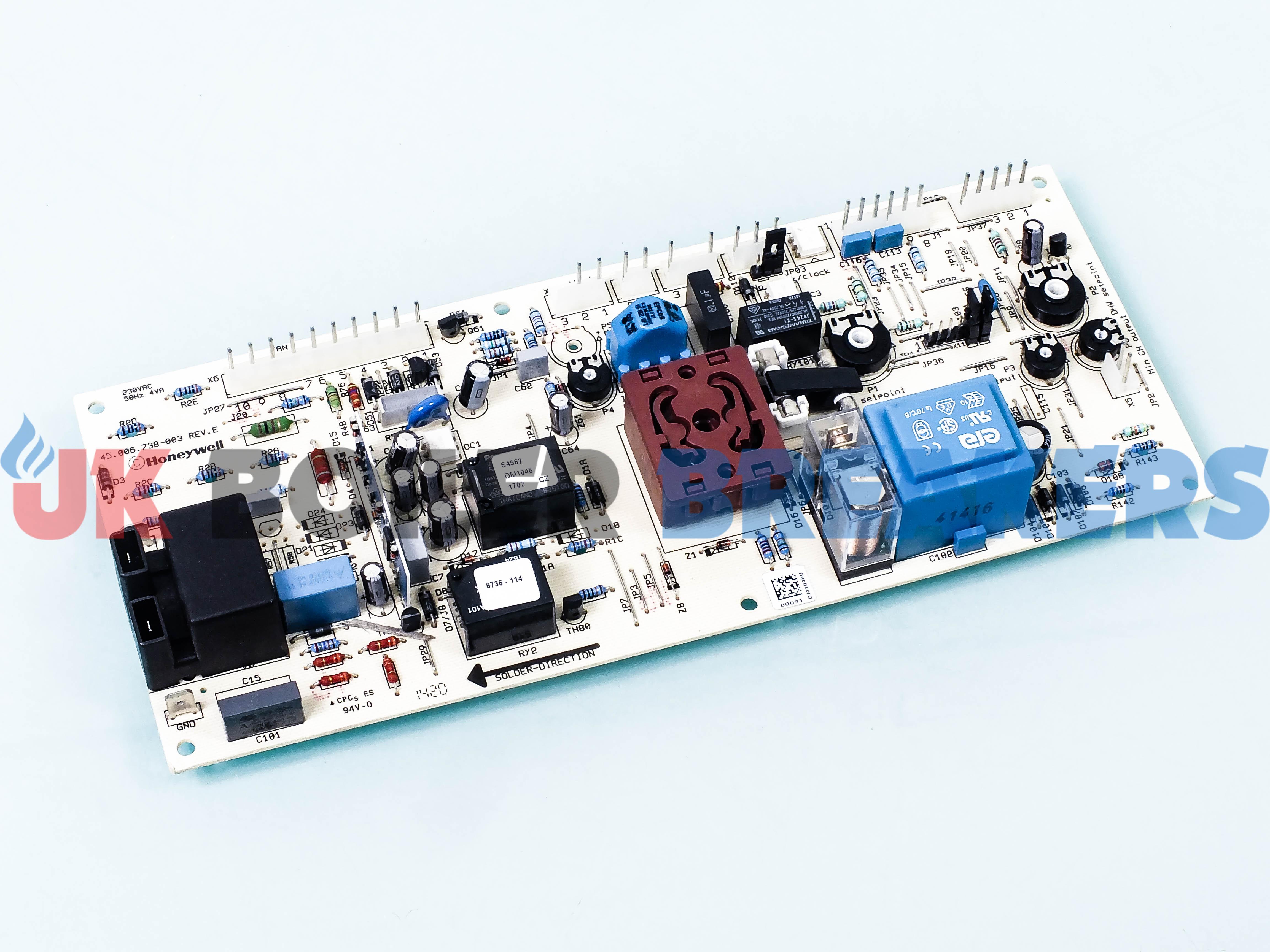 Vaillant Printed Circuit Board 130837 Gc 41 044 30 Uk Boilerbreakers Printers