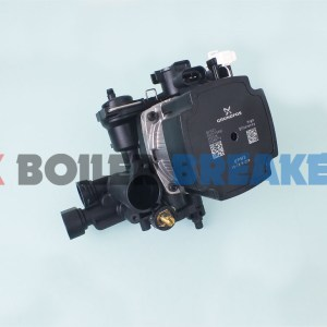 glow worm 0020186159 pump motor and housing