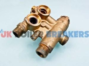 baxi 720789401 brass flow valve without bypass 1