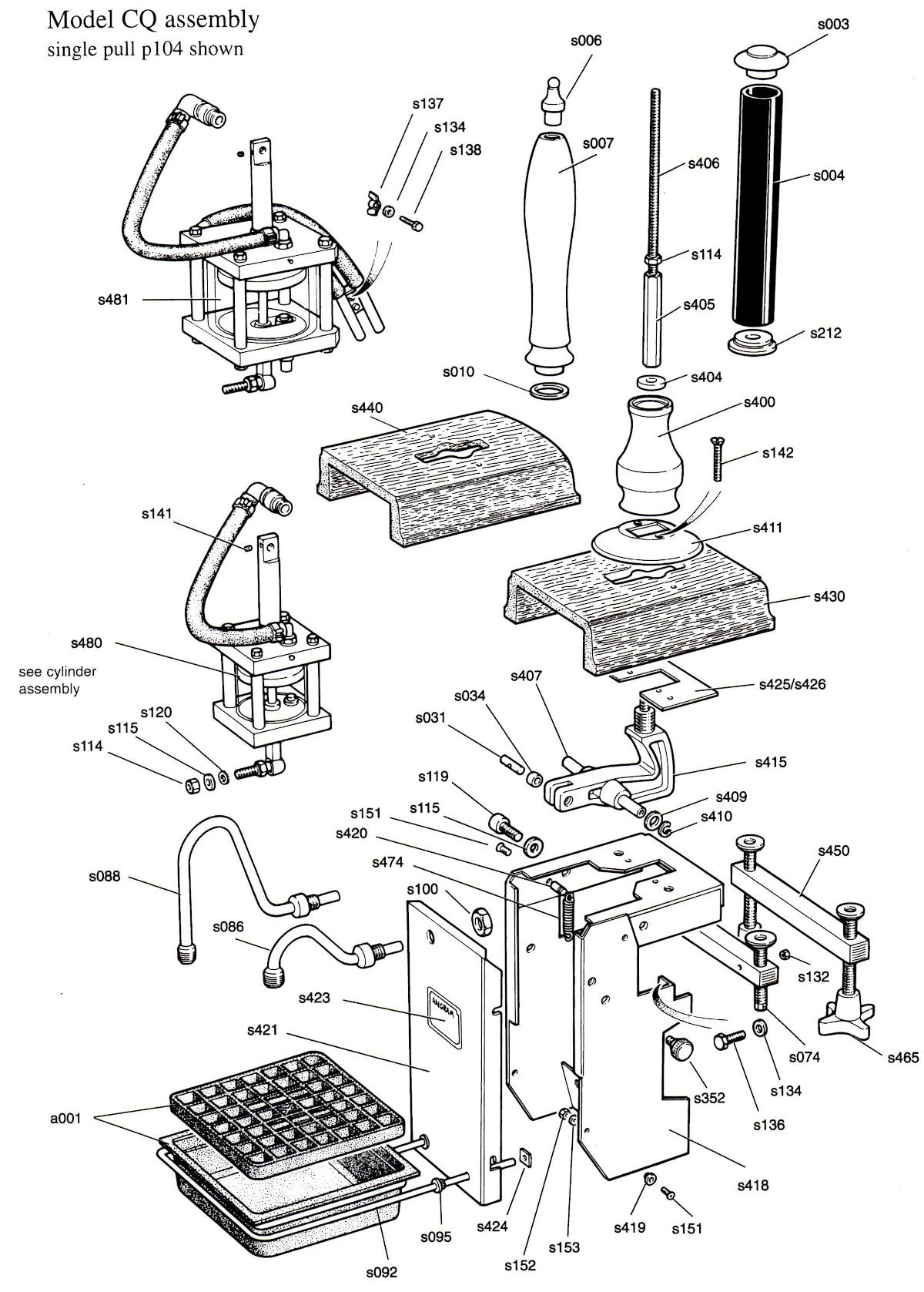 Cq Model Handpumps