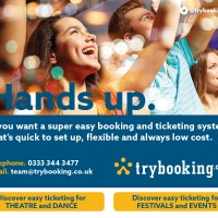 Trybooking advert