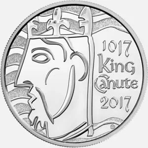 King Canute £5 Coin