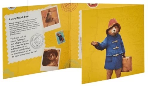 Paddington at Buckingham Palace Brilliant Uncirculated 50p