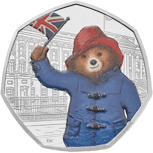 Paddington at Buckingham Palace 50p