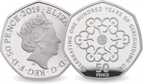 girl guides 50p 2019