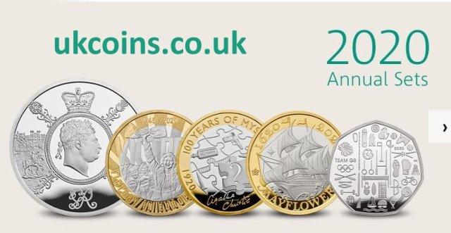 2020 annual coin sets