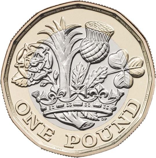 2020 £1 Coin