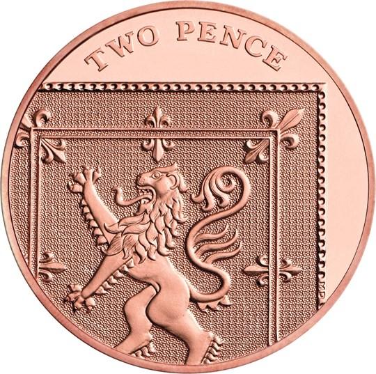 2020 2p coin