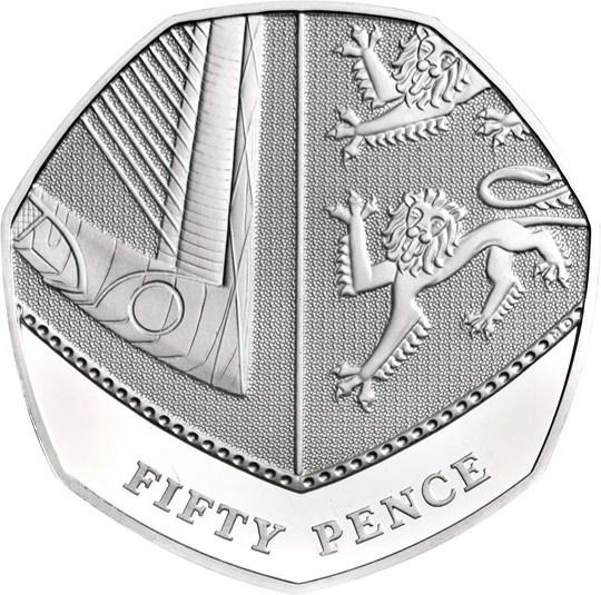 2020 50p coin
