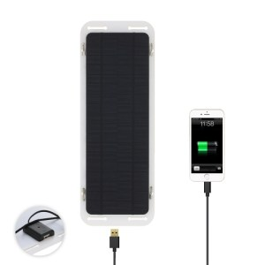 18V 5W USB Portable Ultra Thin Multifunctional Monocrystalline Silicon Solar Panel Charger