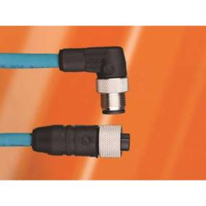 AlphaWire DW04DW117 TL357 Sensor/actuator cable M12 Plug, right angle 3 m No. of pins (RJ): 4 1 pc(s)