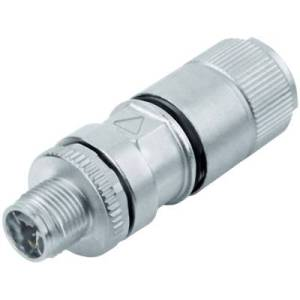 Binder 99 3787 810 08 Sensor/actuator connector M12 Plug, straight 2 m No. of pins (RJ): 8 1 pc(s)
