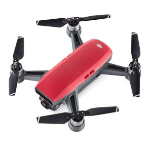 DJI Spark Drones 12MP Camera Quick Launch Remote Control Flight Modes Shake Free Shots Smart Quadcopter