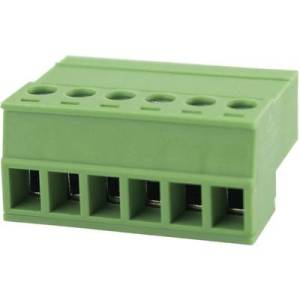 Degson Pin enclosure - cable Total number of pins 6 Contact spacing: 3.81 mm 15EDGKR-3.81-06P-14-00AH 1 pc(s)