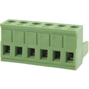 Degson Pin enclosure - cable Total number of pins 6 Contact spacing: 5.0 mm 2EDGK-5.0-06P-14-00AH 1 pc(s)