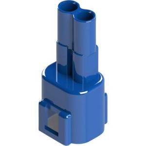 EDAC Pin enclosure - cable 572 Total number of pins 2 Contact spacing: 5.08 mm 572-002-000-300 1 pc(s)