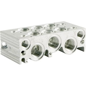 Norgren 2221002 2-Station Sub-Base For Solenoid and Pilot Actuated...
