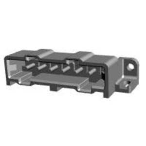 TE Connectivity Pin enclosure - PCB Metrimate Total number of pins 6 Contact spacing: 5 mm 207583-6 1 pc(s)