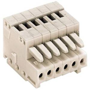 WAGO Socket enclosure - cable 733 Total number of pins 3 Contact spacing: 2.50 mm 733-103 1 pc(s)