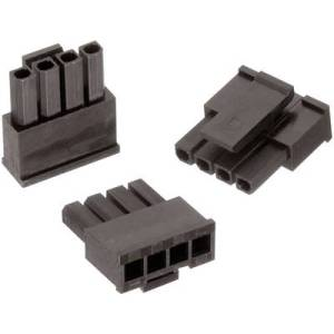 Wuerth Elektronik Socket enclosure - cable WR-MPC3 Total number of pins 2 Contact spacing: 3 mm 662002013322 1 pc(s)