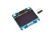 """1.3"""" OLED module white and blue color 128X64 1.3 inch OLED LCD LED Display Module for Arduino 1.3"""" IIC Communicate"""