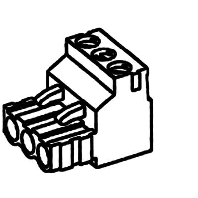 TE Connectivity Pin enclosure - cable Total number of pins 2 Contact spacing: 5.08 mm 282807-2 1 pc(s)