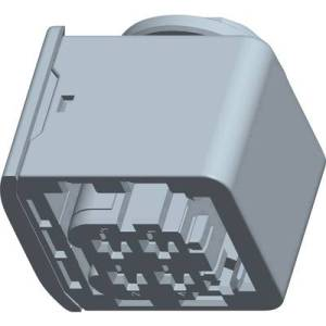 TE Connectivity Socket enclosure - cable HDSCS, MCP Total number of pins 4 1-1418390-1 1 pc(s)