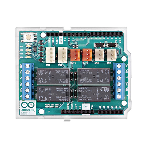 Arduino 4 Relay Shield A000110