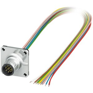 Phoenix Contact 1441561 M12 Sensor/Actuator Plug SACC-SQ-M12MS-8CO...