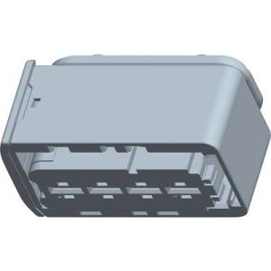 TE Connectivity Socket enclosure - cable HDSCS, MCP Total number of pins 4 1-1564330-1 1 pc(s)