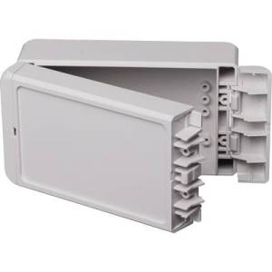 Bopla Bocube B 140806 PC-V0-7035 Wall-mount enclosure, Build-in casing 80 x 151 x 60 Polycarbonate (PC) Light grey (RAL 7035) 1 pc(s)