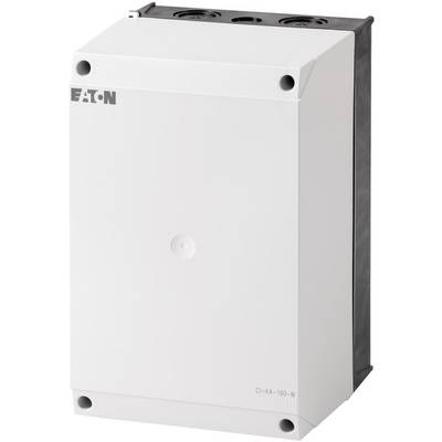 Enclosure for mounting plate (W x H x D) 160 x 240 x 160 mm Light grey (RAL 7035), Black (RAL 9005) Eaton CI-K4-160-M 1 pc(s)