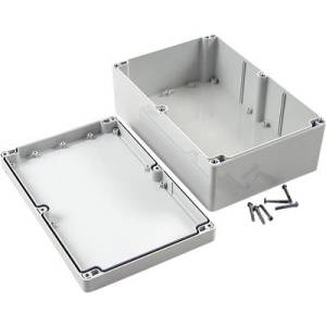 Hammond Electronics 1555VAGY Universal enclosure 240 x 160 x 90 Polycarbonate (PC) Grey 1 pc(s)