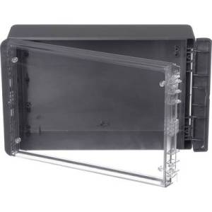 Bopla Bocube B 261709 PC-V0-G-7024 Wall-mount enclosure, Build-in casing 170 x 271 x 90 Polycarbonate (PC) Graphite grey (RAL 7024) 1 pc(s)