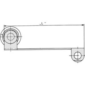 Cherry Switches 71400260 Auxiliary Actuator For DB / DC Series