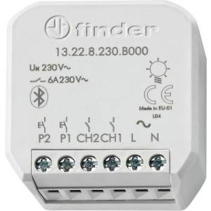 Finder YESLY 2-channel Wireless switching actuator 13.22.8.230.B000 Grey