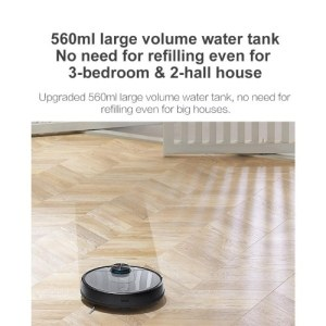 Global Version Xiaomi Viomi V2 Robot Vacuum Cleaner Laser Navigation Route Planning Intelligent Floor Mopping Sweeping Robot Smart Home APP Control Dust Collector