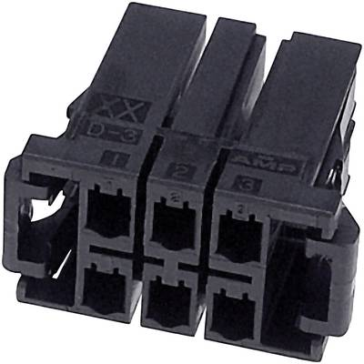 TE Connectivity Socket enclosure - cable DYNAMIC 3000 Series Total number of pins 10 3-917659-5 1 pc(s)