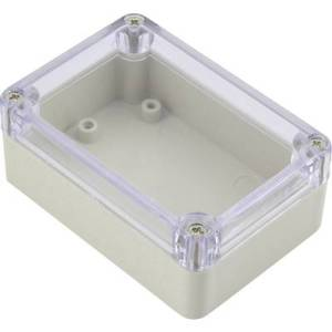 TRU COMPONENTS 92022c00226 Universal enclosure 290 x 210 x 60 Acrylonitrile butadiene styrene Light grey 1 pc(s)