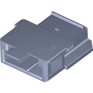 TE Connectivity Socket enclosure - PCB MCP Total number of pins 3 1-968977-9 1 pc(s)